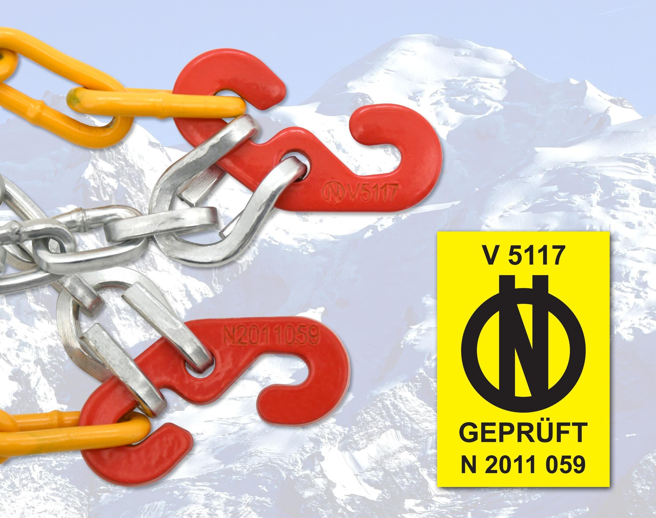 Sněhové řetězy WINTER ÖNORM X80 nylon bag