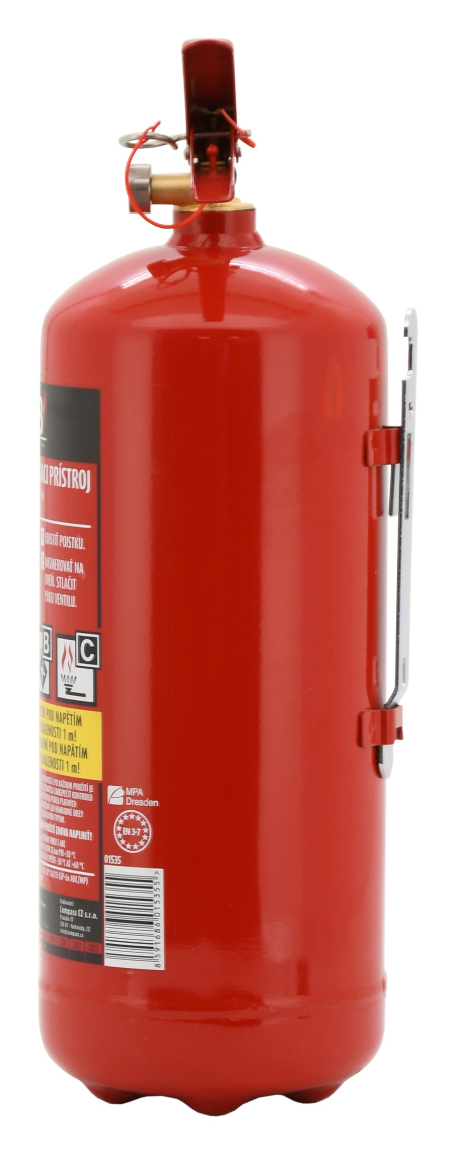Hasicí přístroj práškový 6 kg ABC (43A)