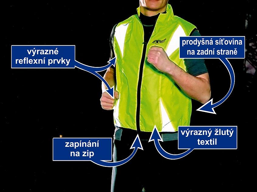 Vesta L reflexní žlutá S.O.R.