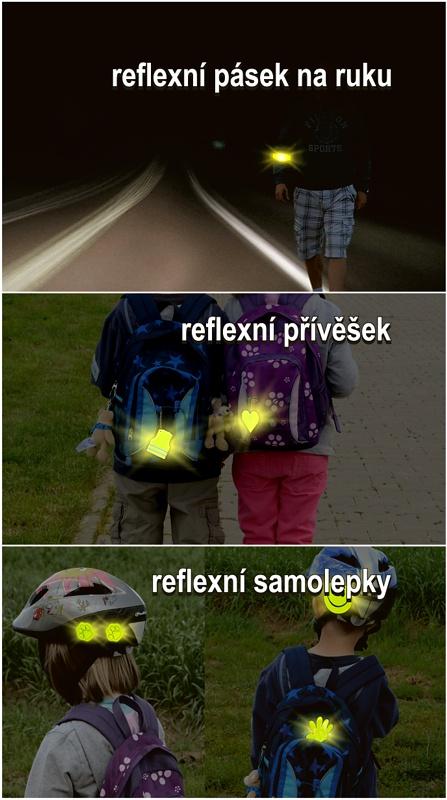 Set reflexní doplňky S.O.R.