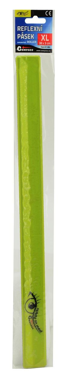 Pásek reflexní ROLLER XL 3x38cm S.O.R. žlutý