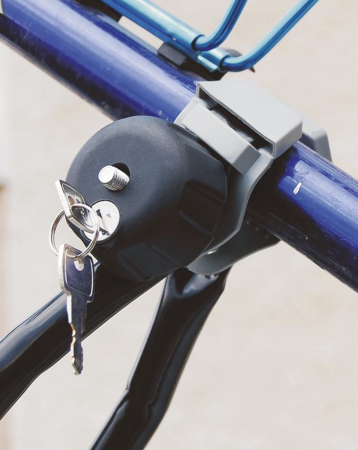 Nosič jízdního kola zamykací BLACK