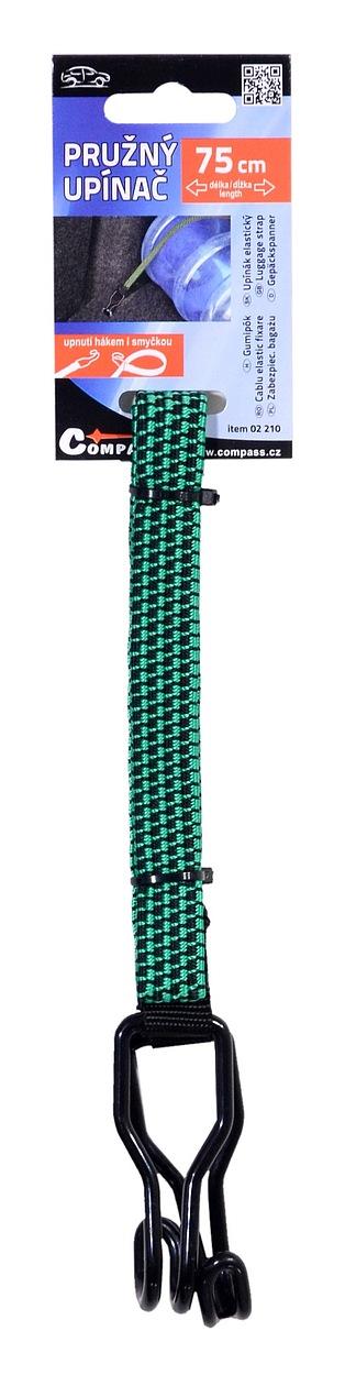 Pružný upínač 75cm FLAT 1ks
