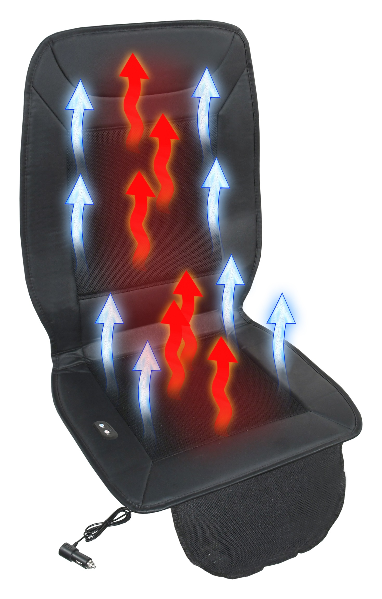 Potah sedadla vyhřívaný s ventilací 12V SEASONS