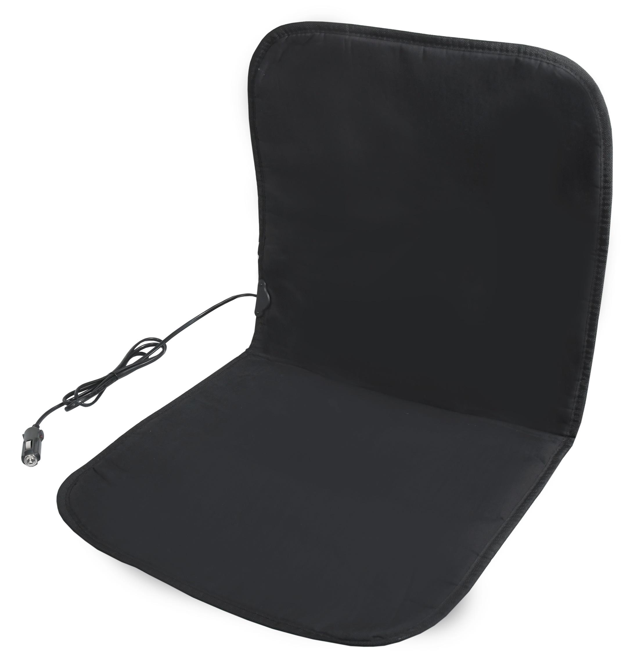 Potah sedadla vyhřívaný 12V BLACK