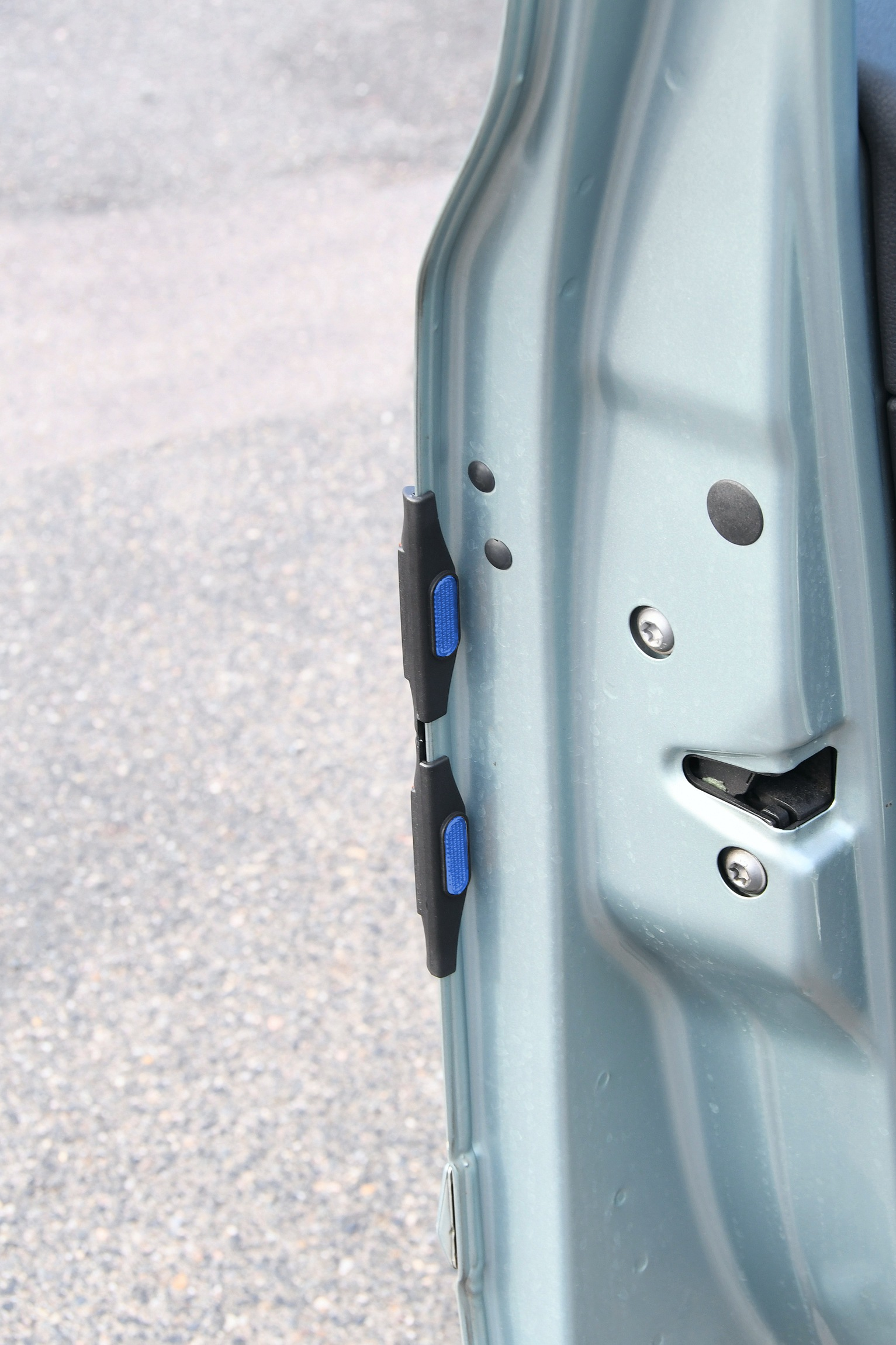 Chránič dveří modrý 2ks