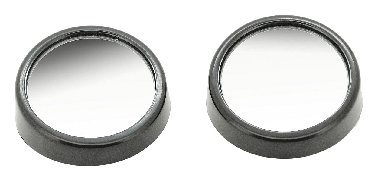 Zrcátko sférické kulaté 2 ks