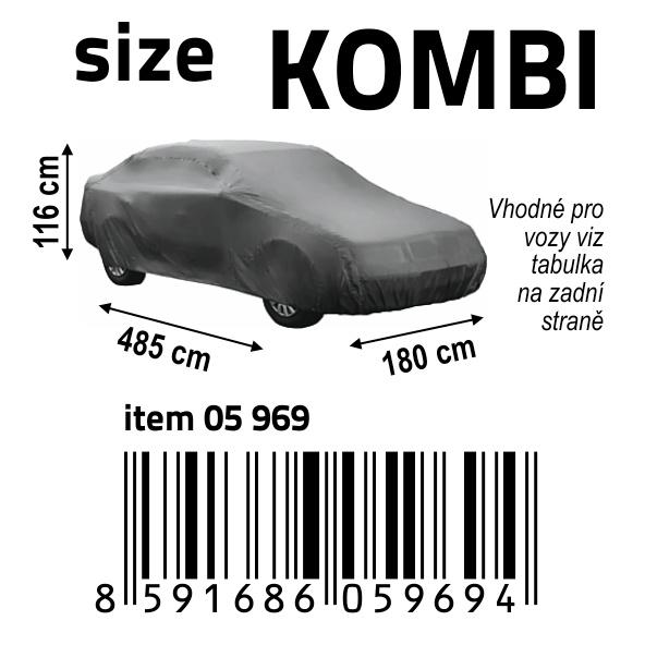 Ochranná plachta FULL   KOMBI 485x180x116cm NYLON