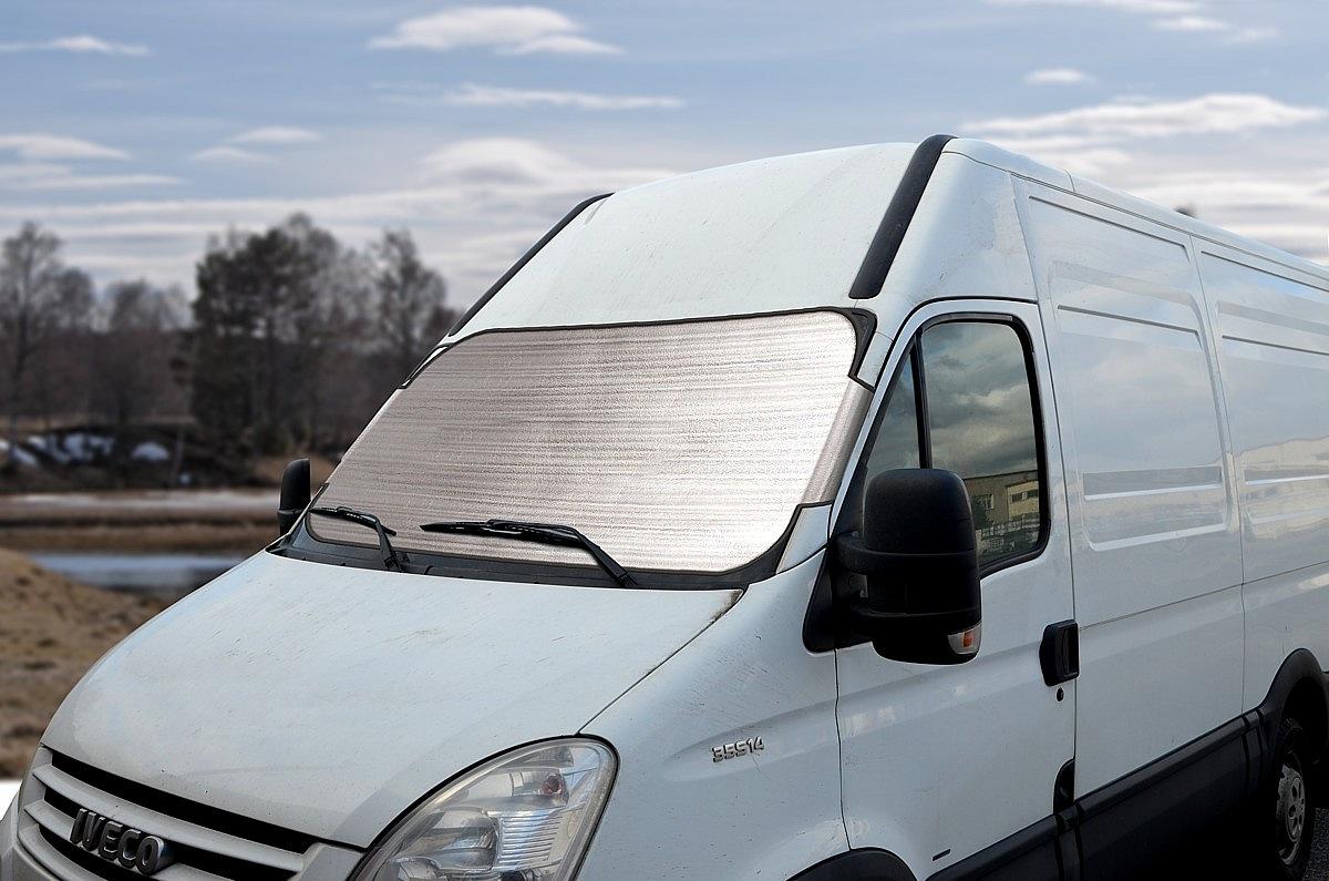 Clona SUN-ICE MAX na čelní sklo ALU 180 x 85cm 2mm