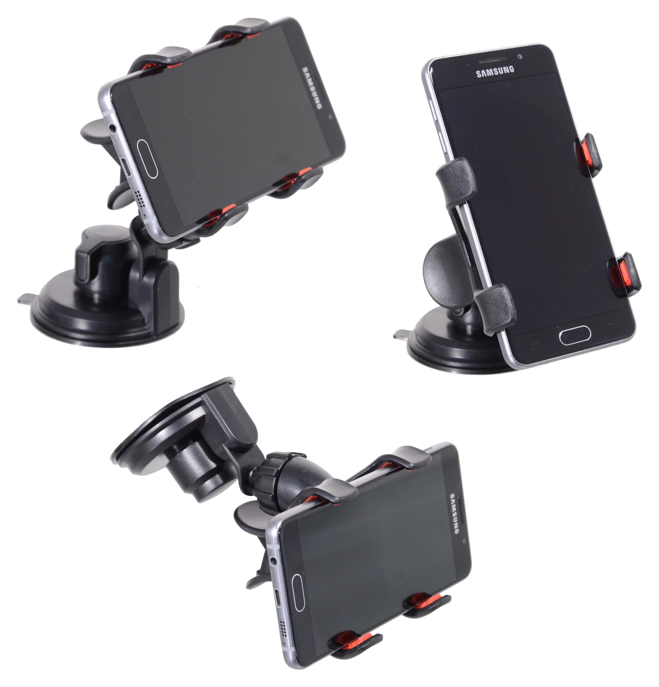 Držák telefonu / GPS na přísavku DOUBLE CLIPS