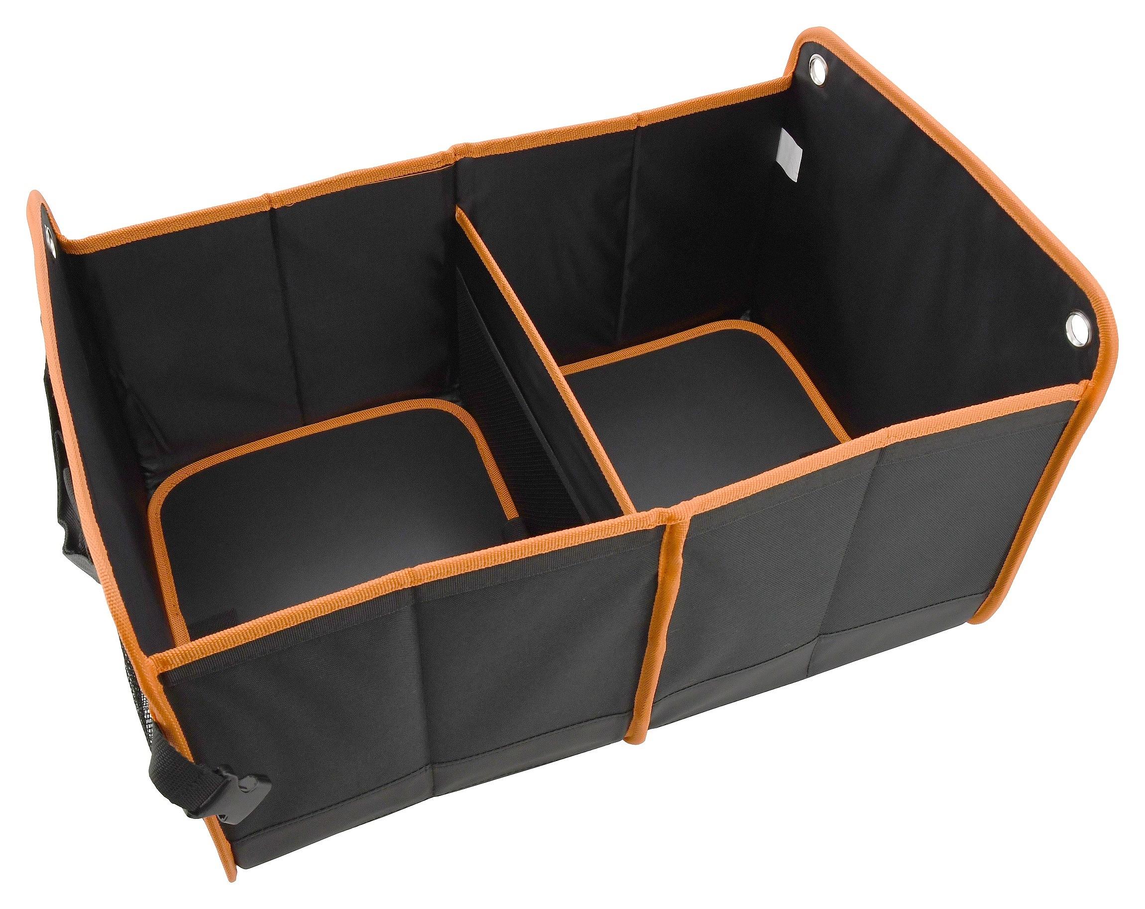 Organizér do kufru dvojitý 54x34cm ORANGE