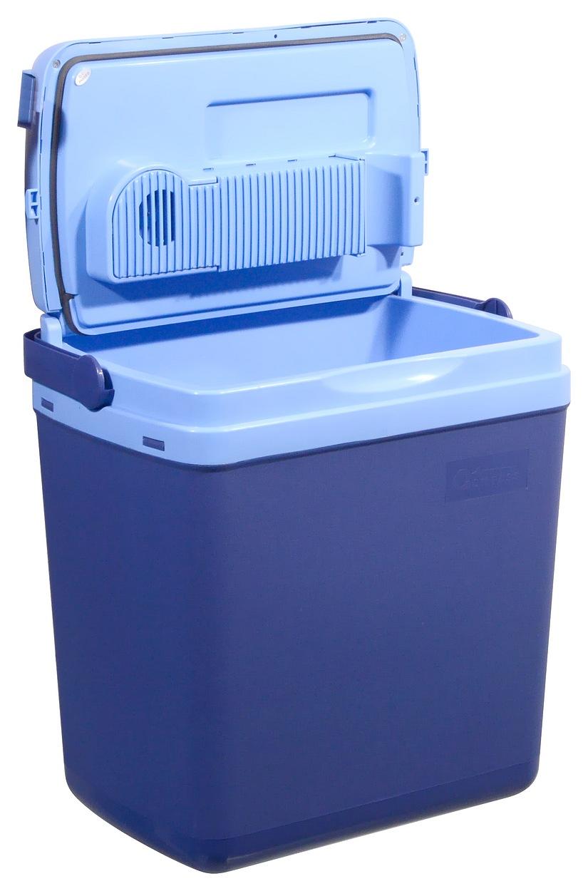 Chladící box  25litrů BLUE 230/12V displej s teplotou