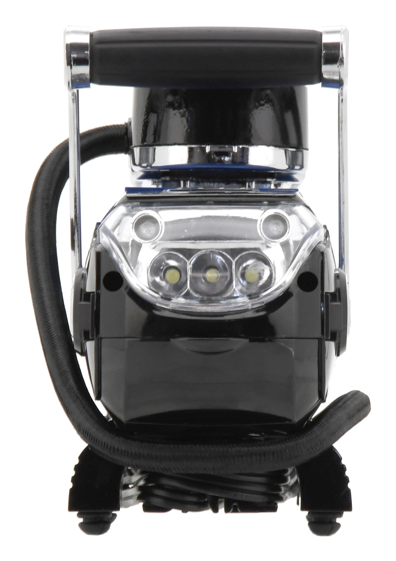 Kompresor 12V HIGH POWER se světlem