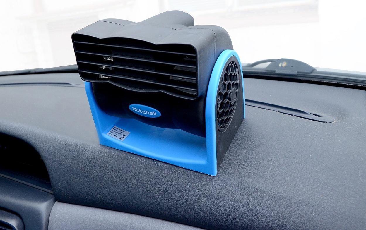 Ventilátor MITCHELL 12V na palubní desku