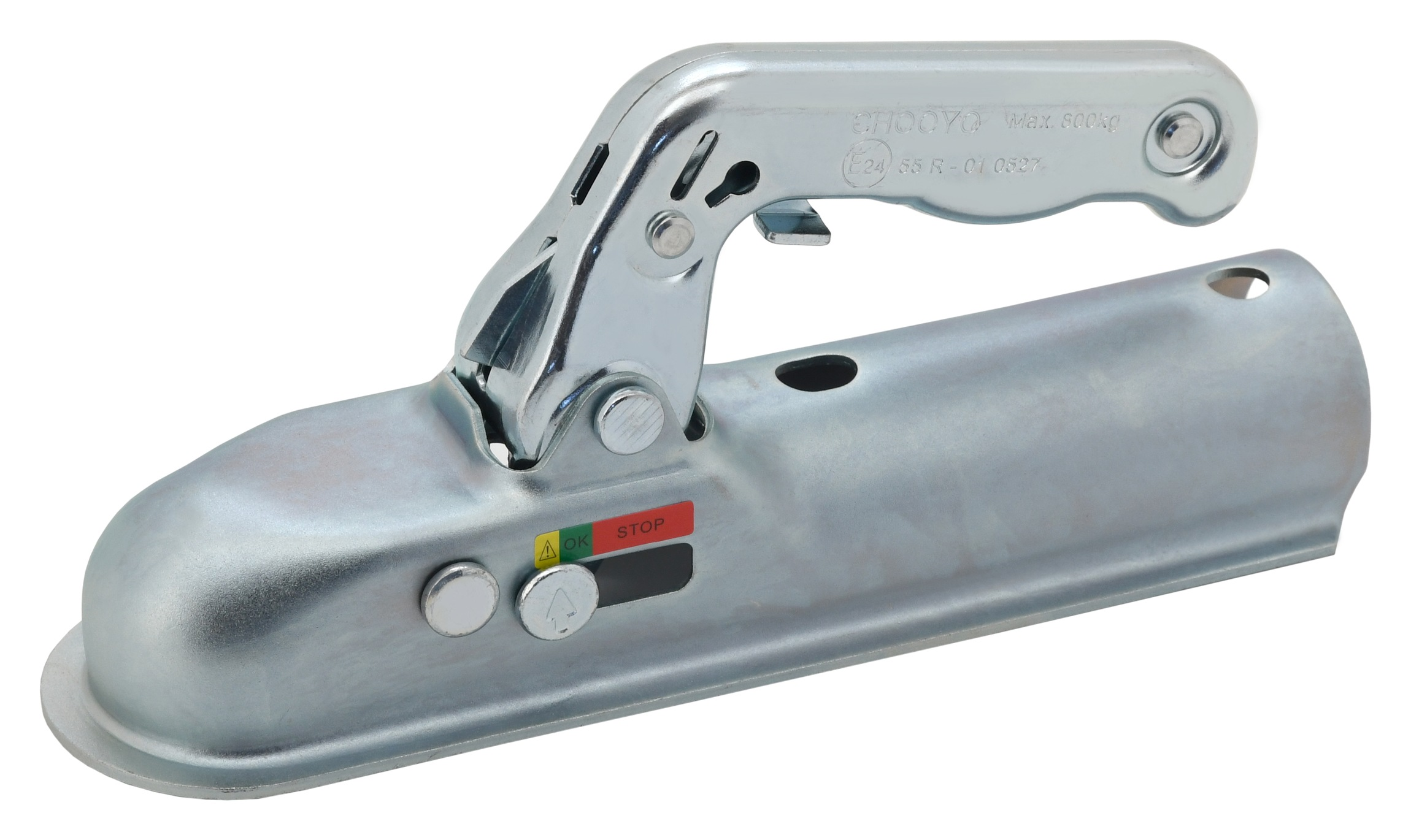 Přívěsný kloub - trubková oj 50mm E homologace