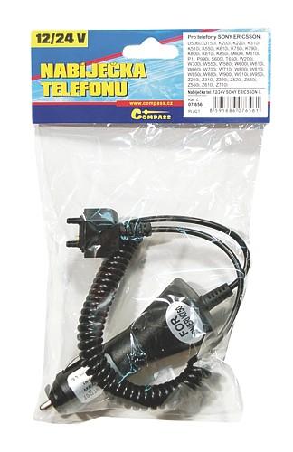 Nabíječka telefonu 12/24V SONY ERICSSON II.