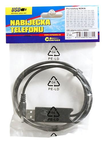 Nabíječka telefonu USB NOKIA I. + zesilovač