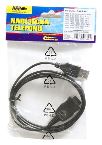 Nabíječka telefonu USB SAMSUNG I.