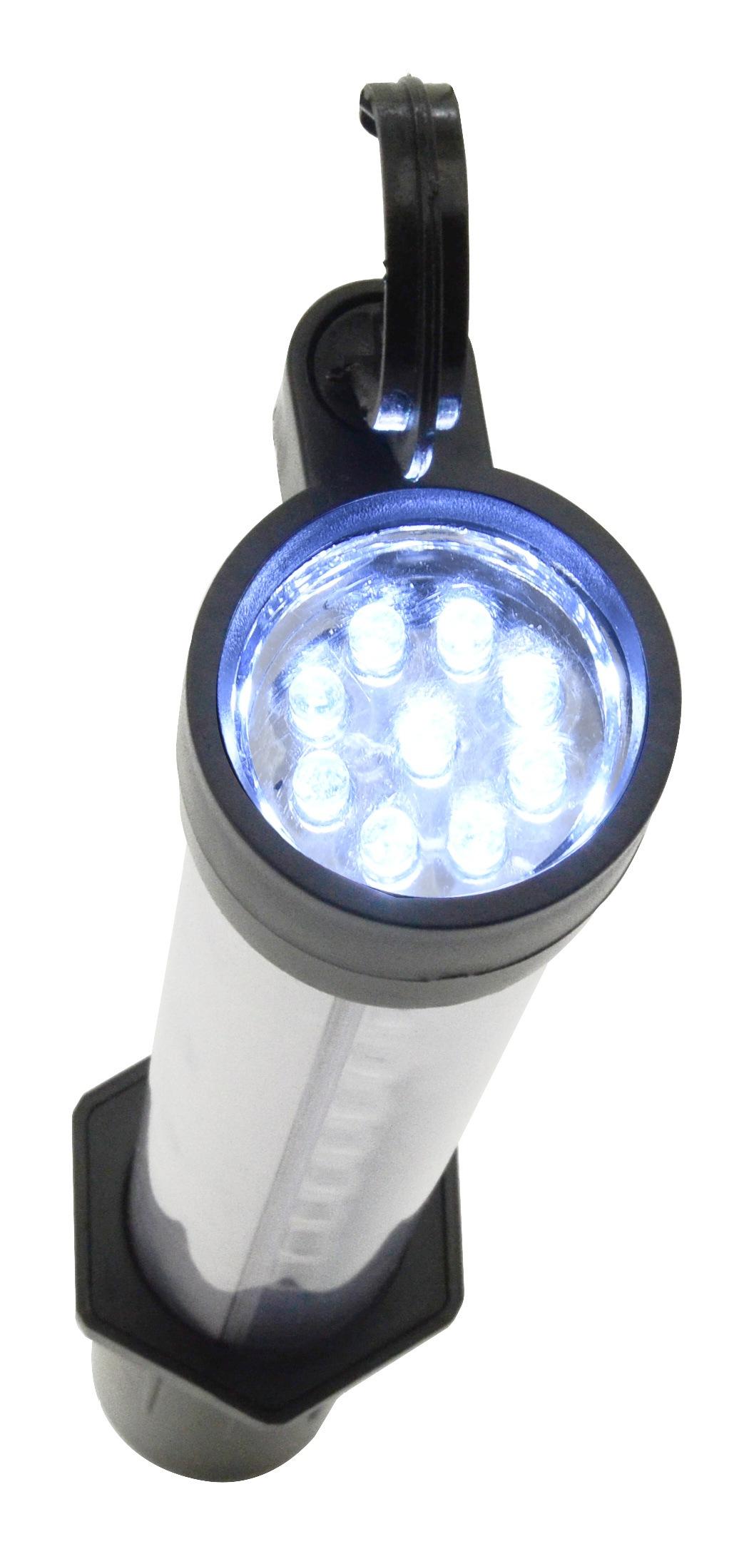 Svítilna montážní 27+7LED nabíjecí 12/230V Li-on 1200mAh