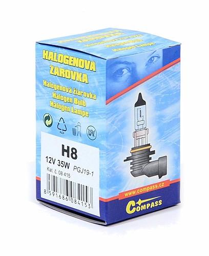 Žárovka 12V  H8  35W PGJ19-1 box