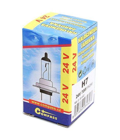 Žárovka 24V  H7  70W PX26d box
