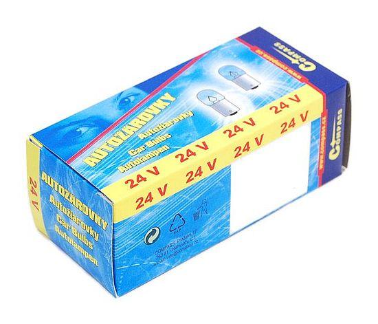 Žárovka 24V  R10W  10W Ba15s box