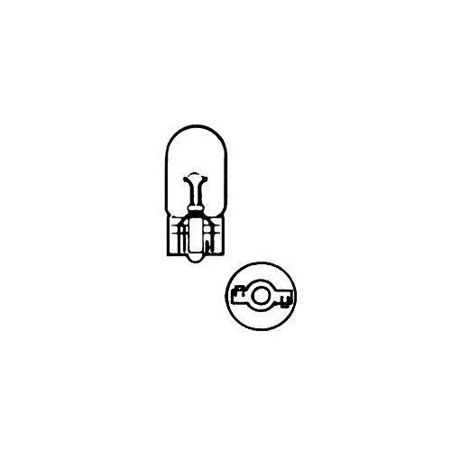 Žárovka 24V  W5W  5W T10 celosklo box