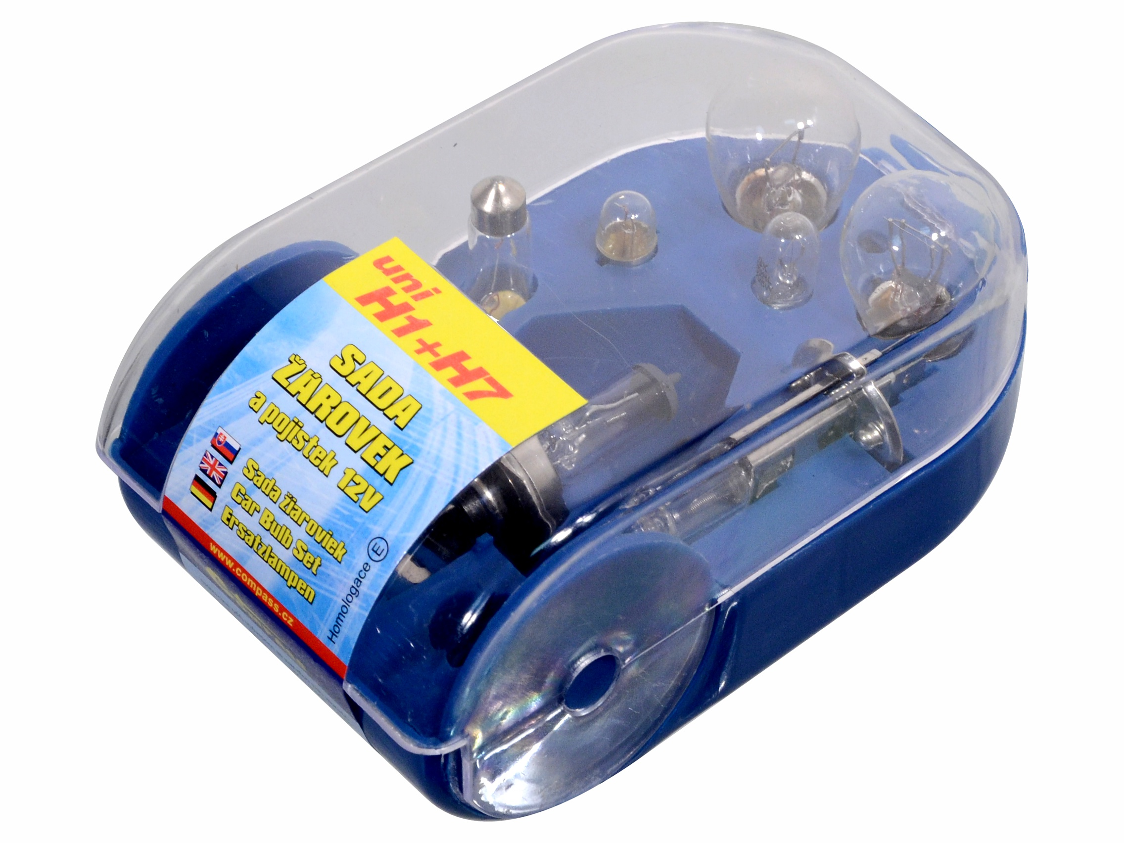 Žárovky servisní box univerzální H7+H1