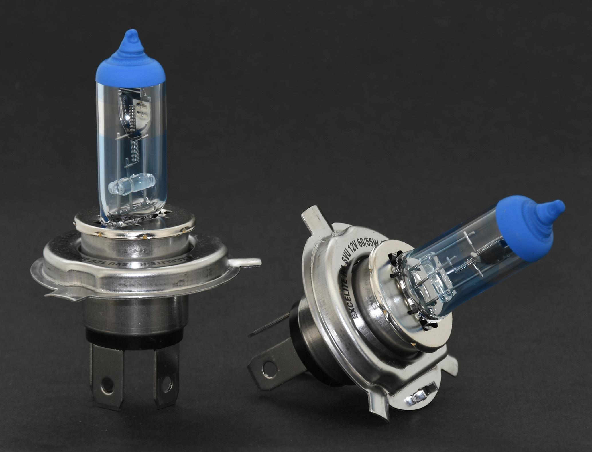 Žárovka Excelite H4 BLUE SVU +80% 60/55W 2ks