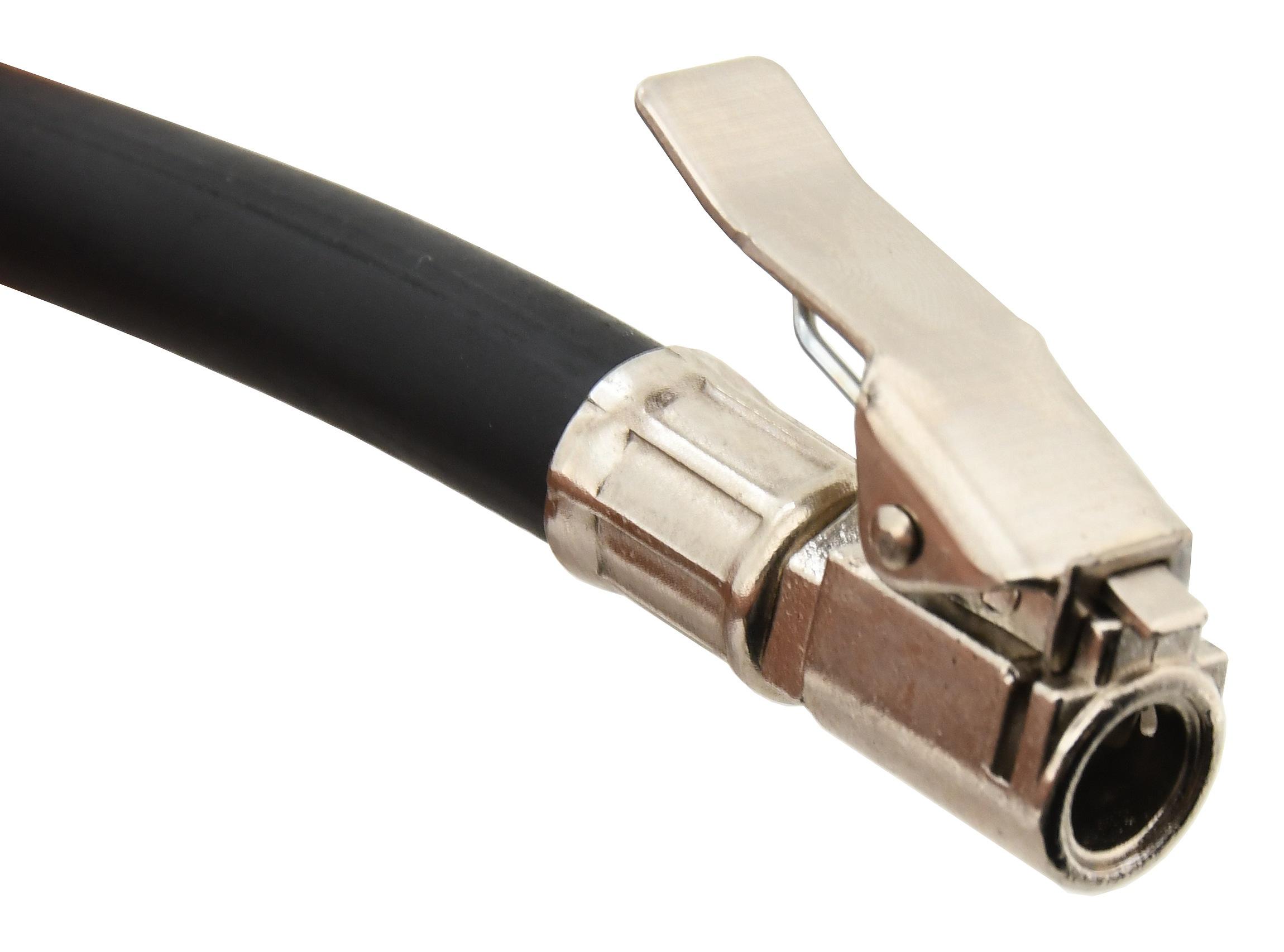 Vzduchová pistole na pneu s manometrem