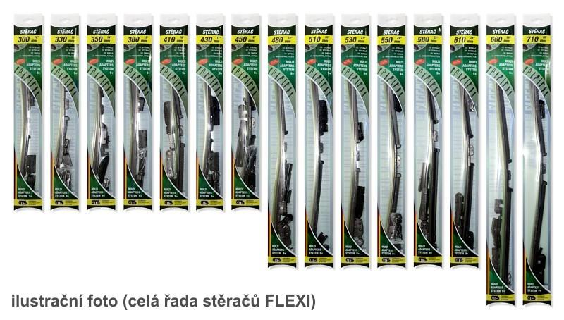 Stěrač plochý FLEXI  350mm