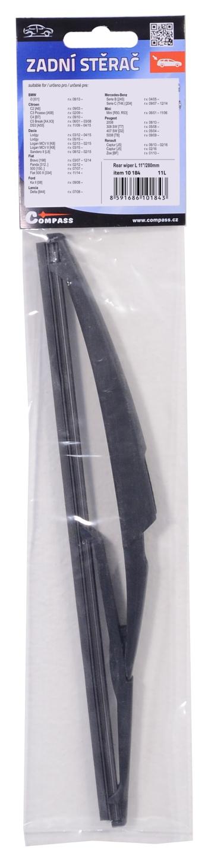 """Stěrač zadní plastový L 11""""/280mm"""