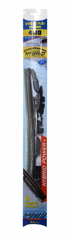 Stěrač HYBRID  480mm + 11 adaptérů TEFLON