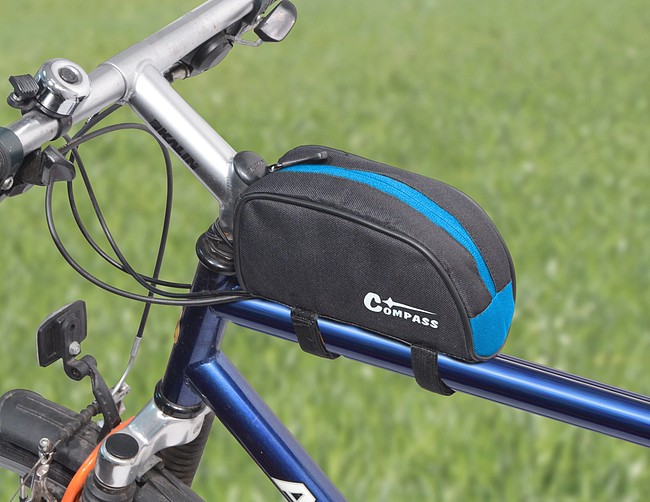 Cyklotaška nad rám přední vidlice