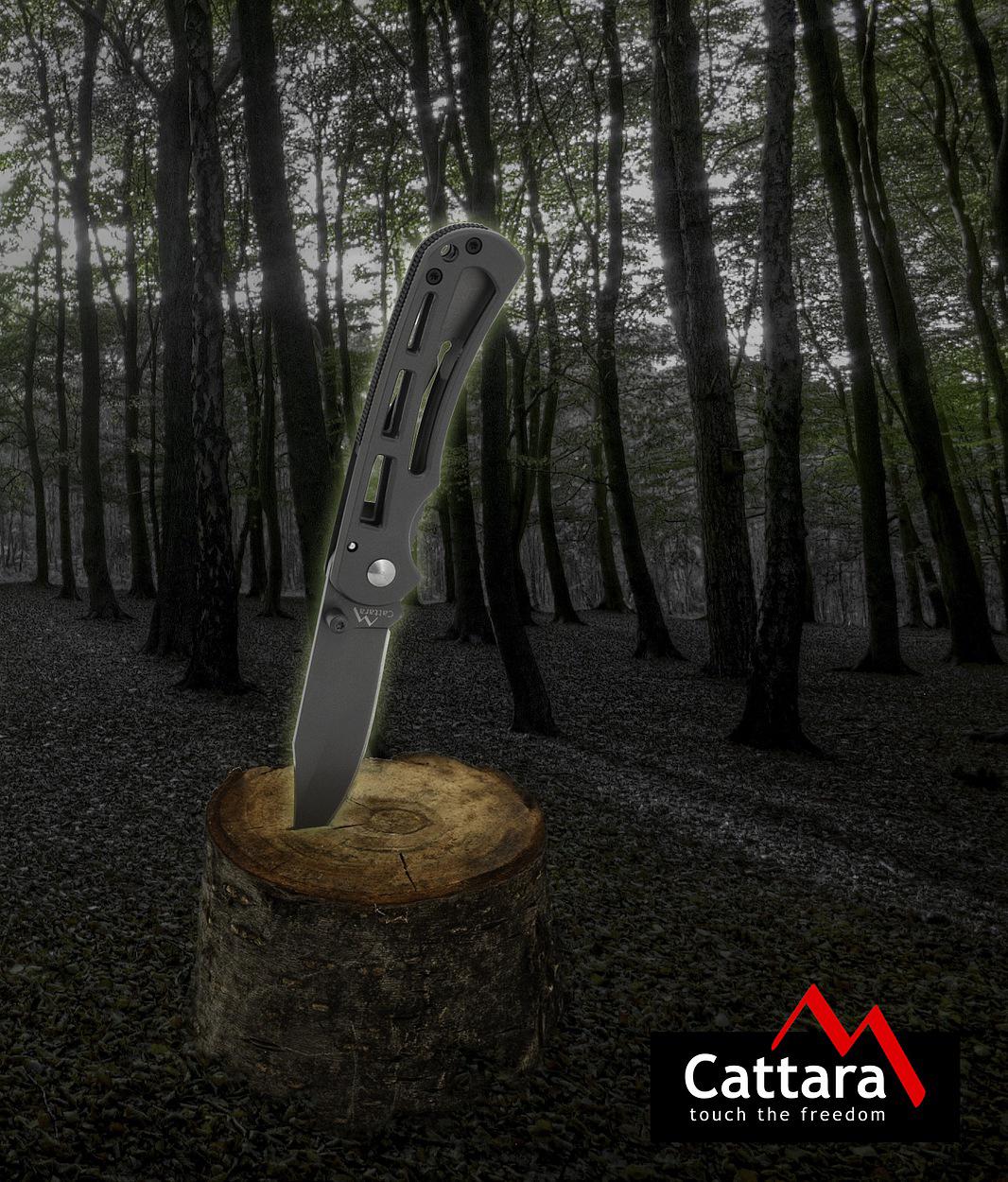 Cattara - Nůž zavírací BOLET s pojistkou 16,5cm