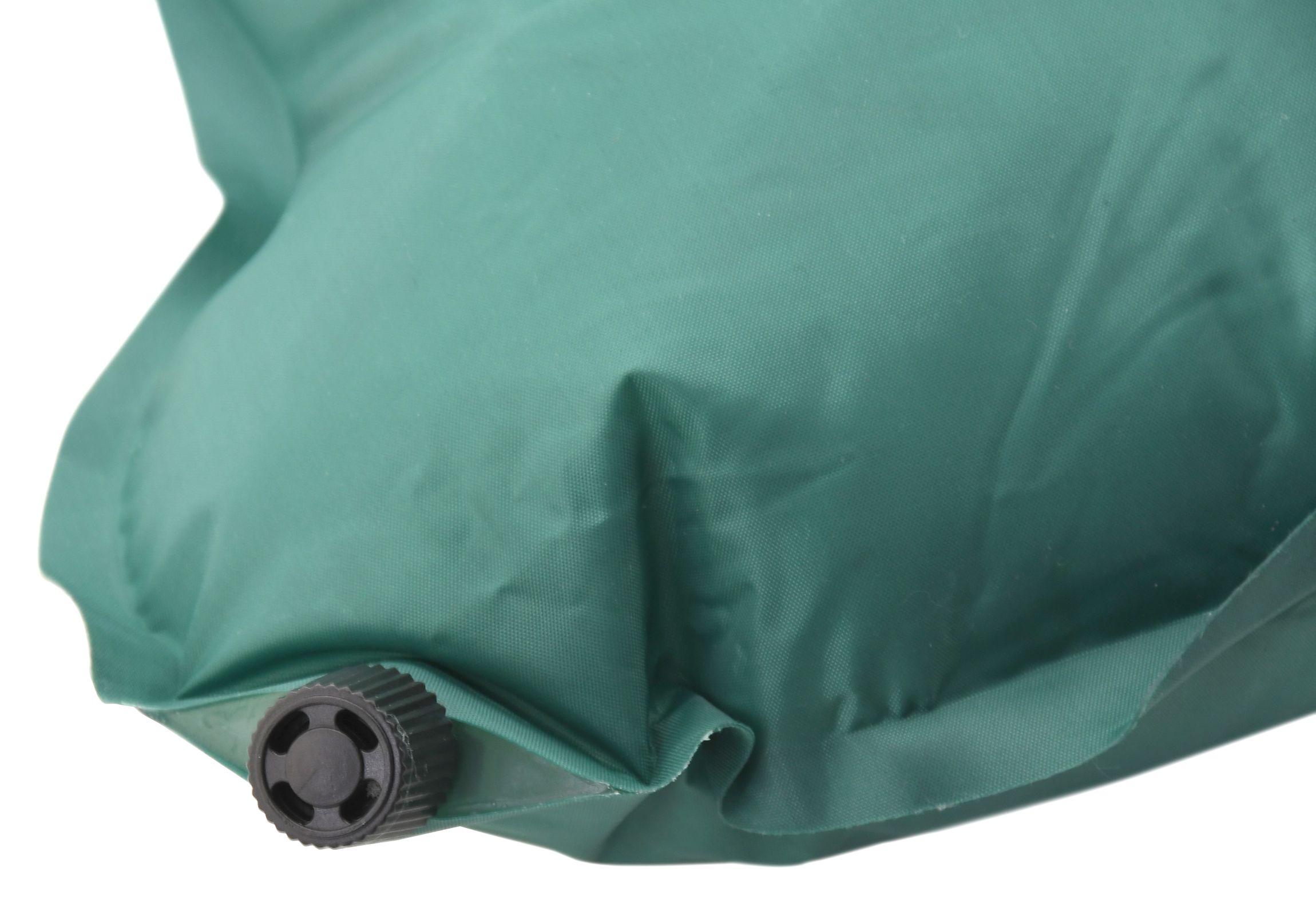 Polštář samonafukovací BONE 40x25x13cm zelený