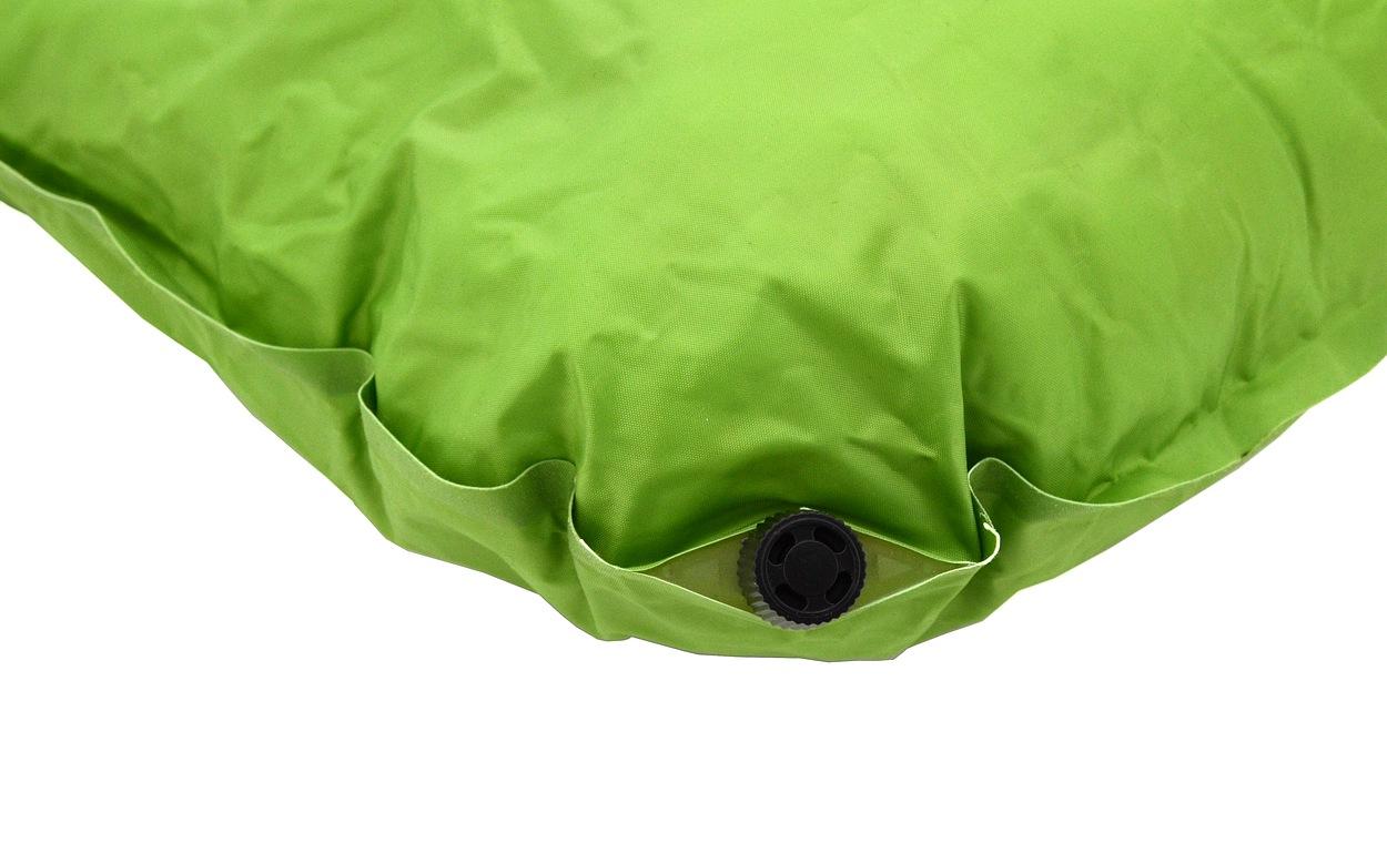 Polštář samonafukovací 50x30x13cm zelený