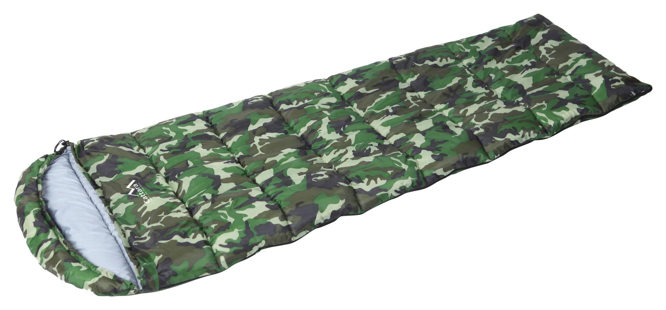 Cattara - Spací pytel dekový ARMY 5°C