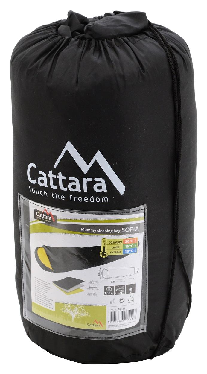 Cattara - Spací pytel mumie SOFIA 10°C