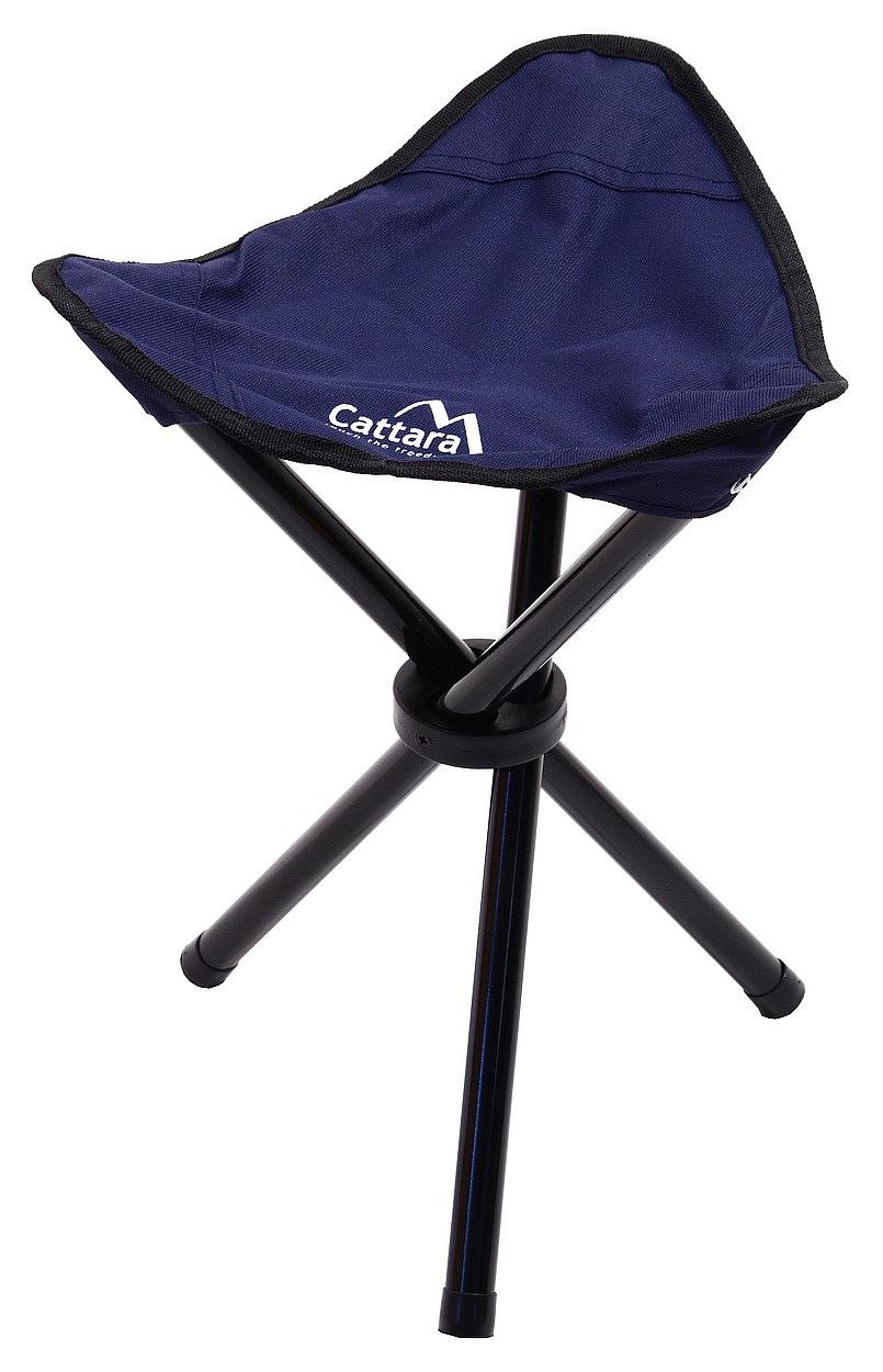 Cattara - Židle kempingová skládací OSLO modrá