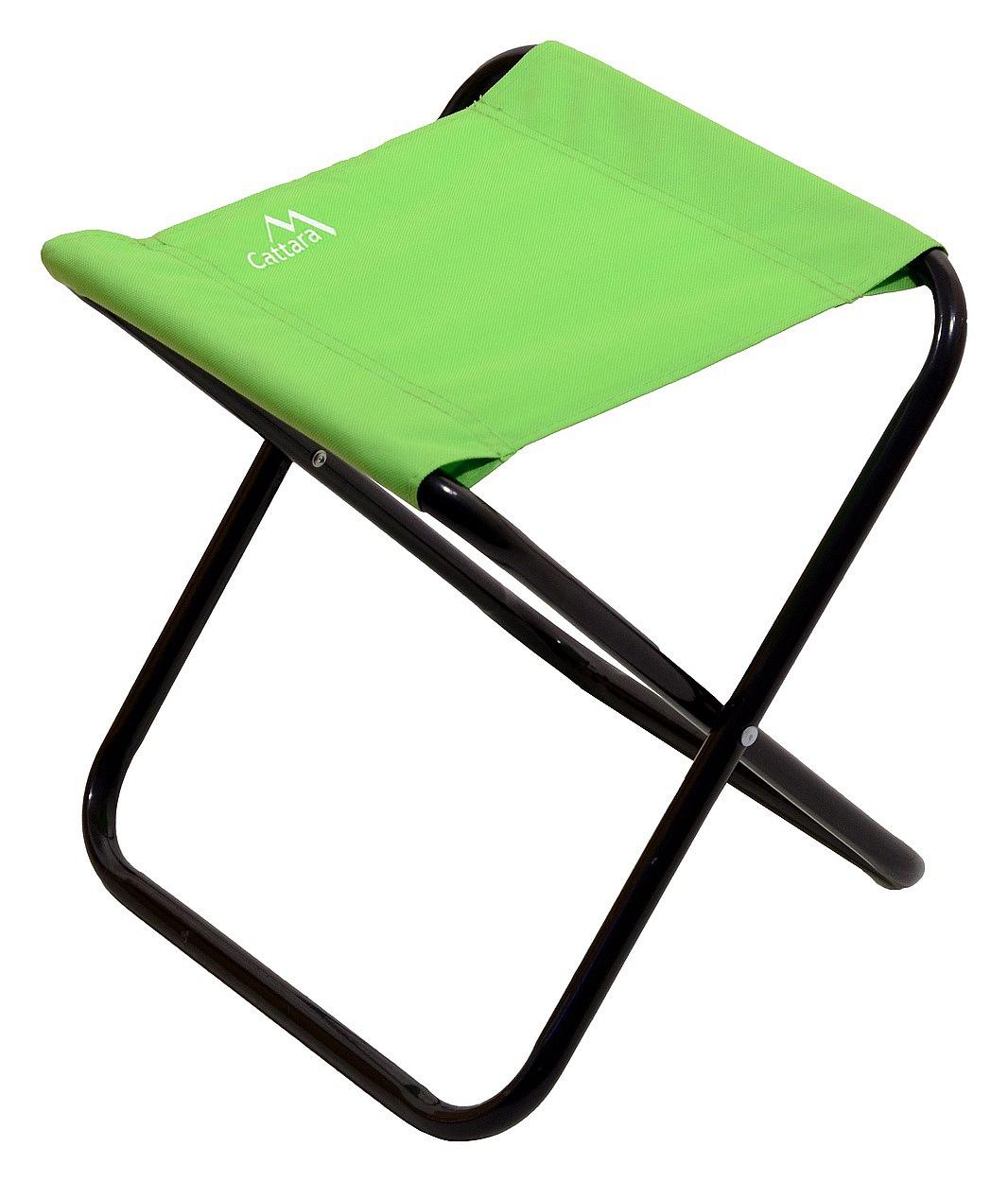 Cattara - Židle kempingová skládací MILANO zelená