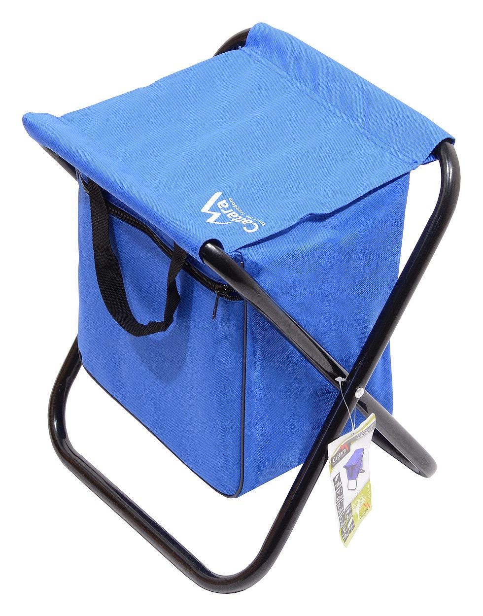 Cattara - Židle kempingová skládací MALAGA modrá
