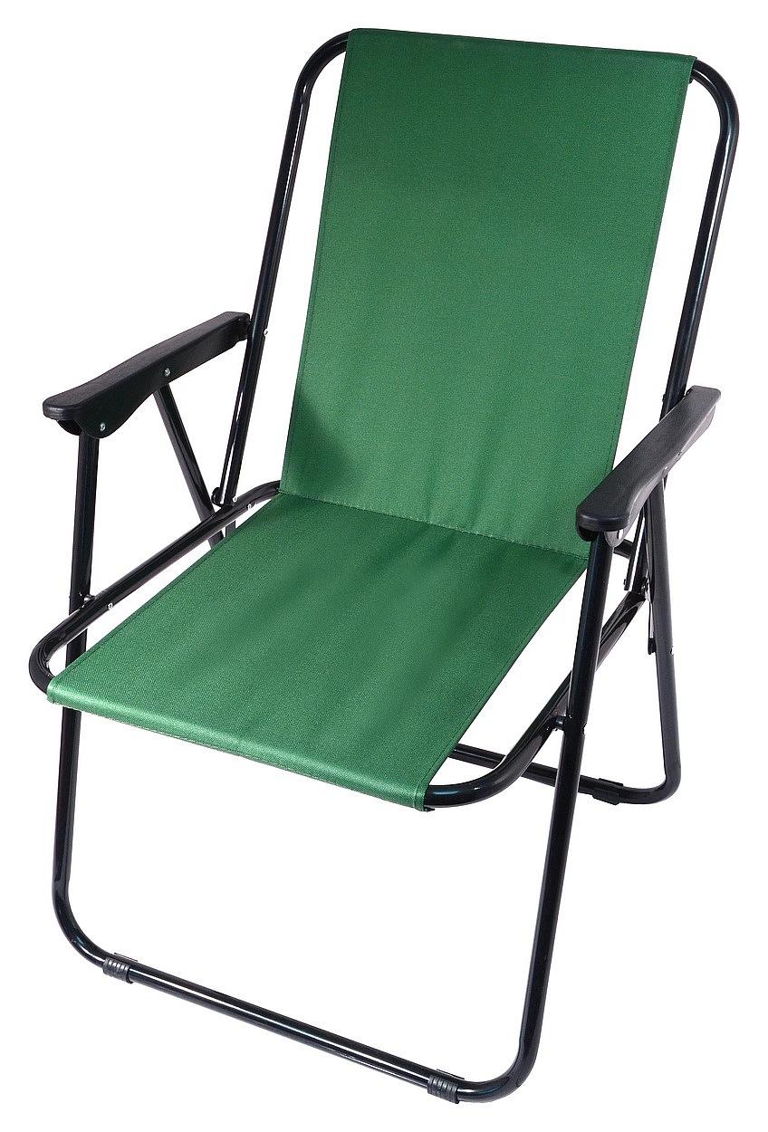 Cattara - Židle kempingová skládací BERN zelená
