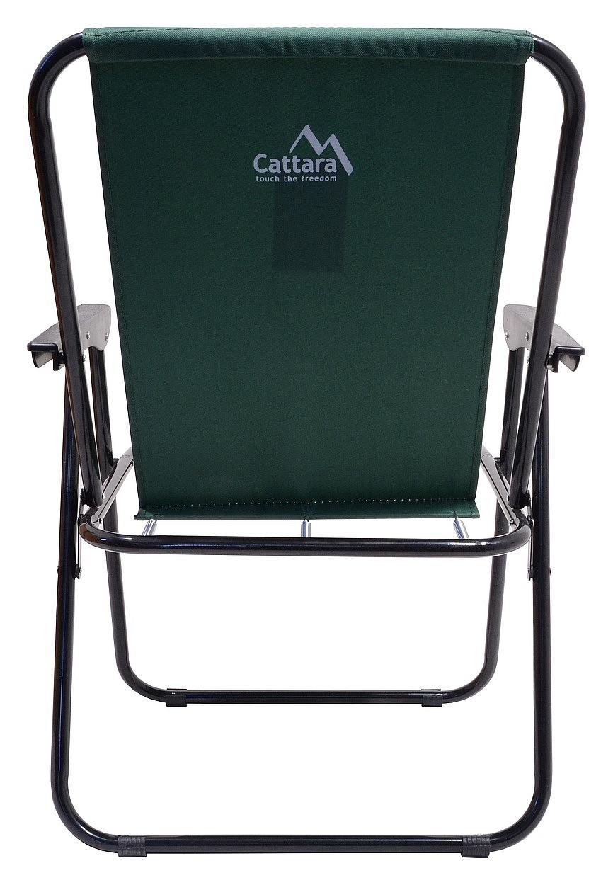 CATTARA Židle kempingová skládací BERN zelená