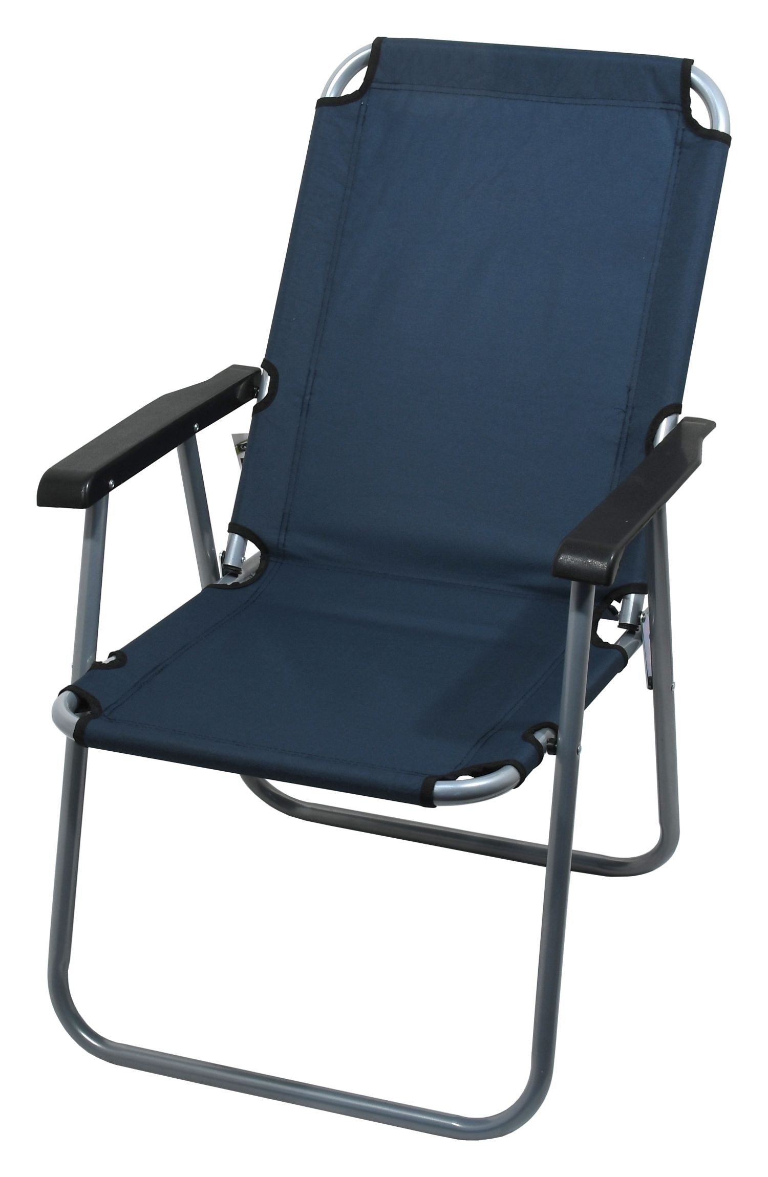 Cattara - Židle kempingová skládací LYON tmavě modrá