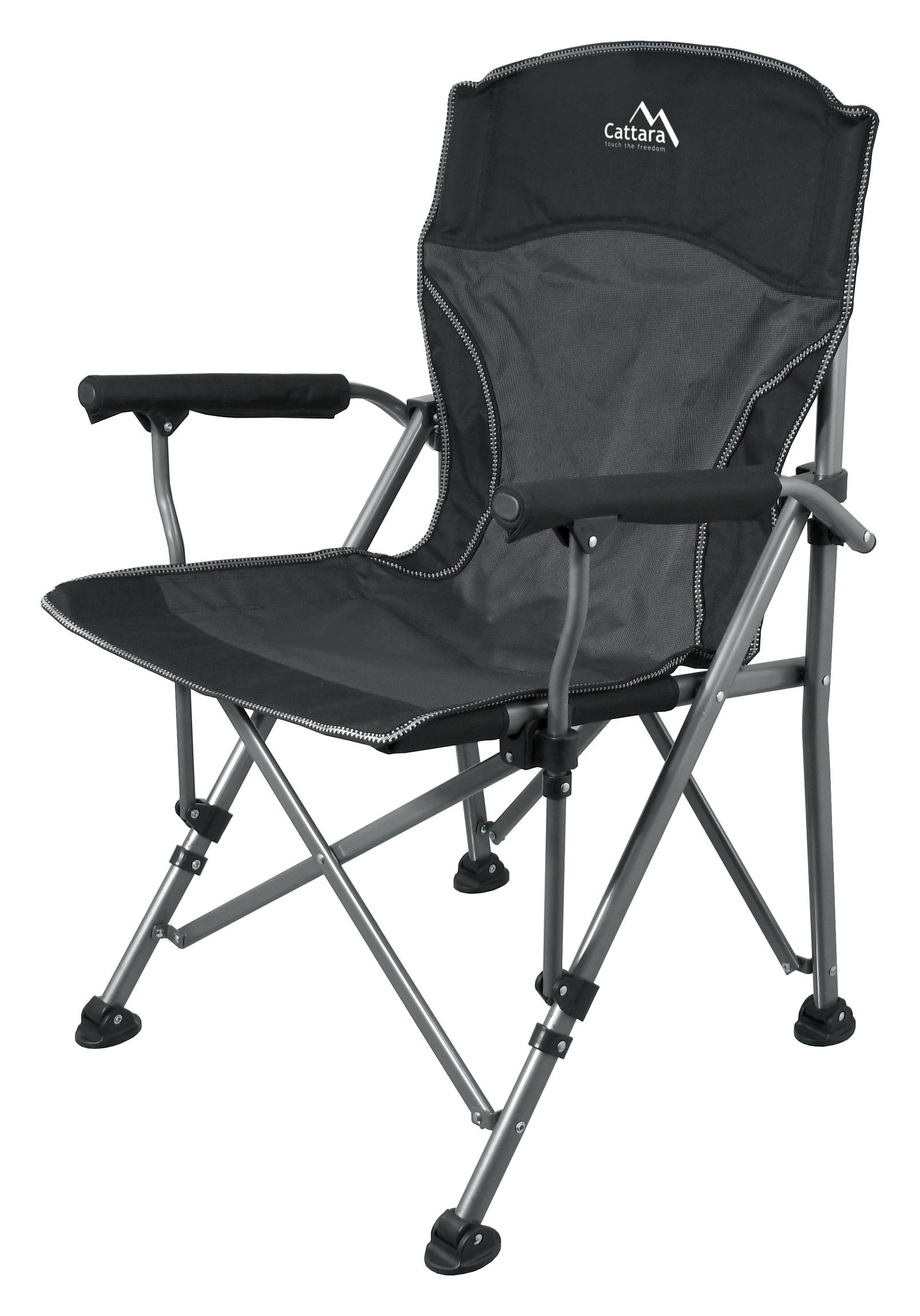 Cattara - Židle kempingová skládací MERIT XXL 95cm