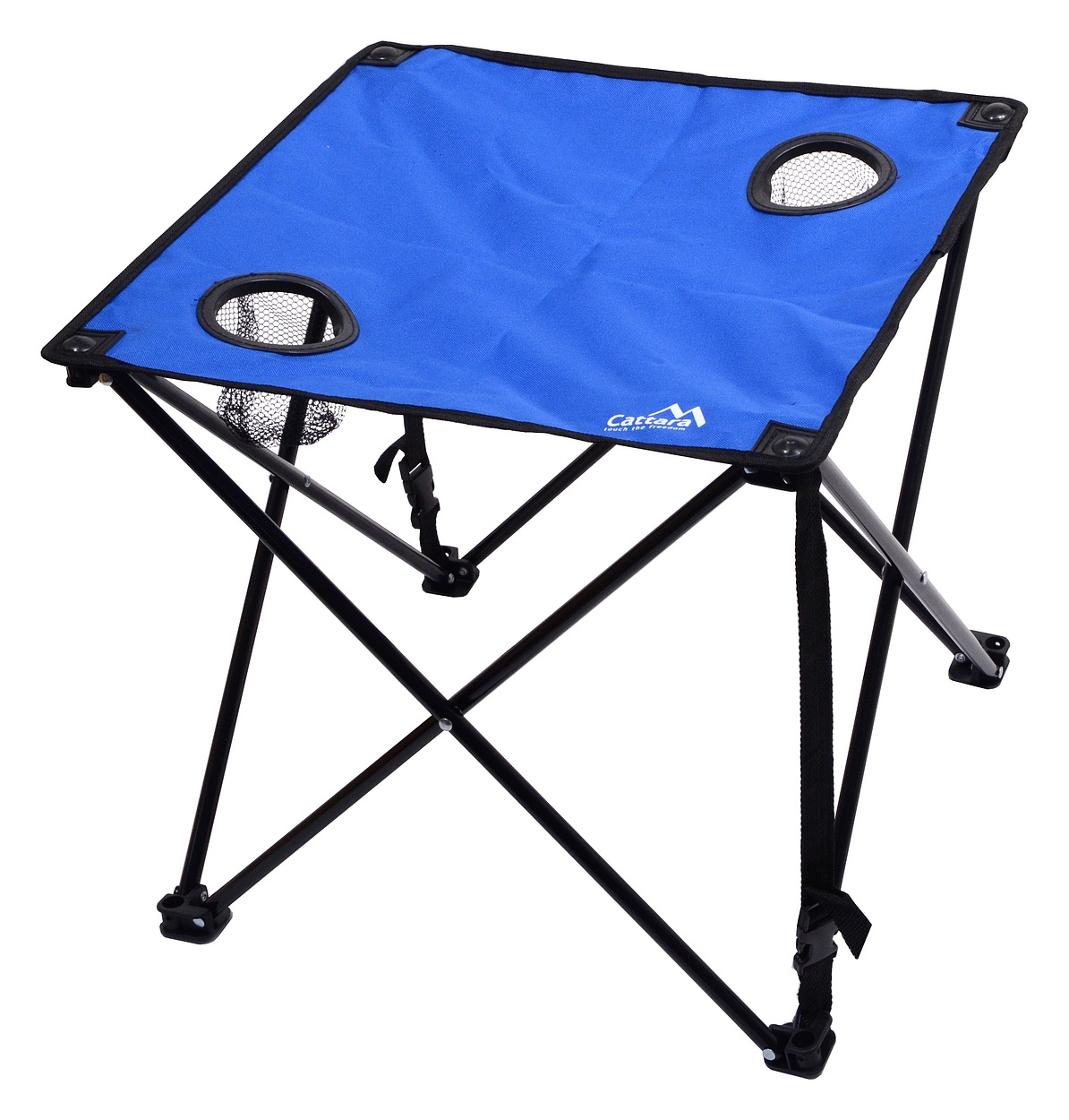 Cattara - Stůl kempingový skládací LISBOA modrý