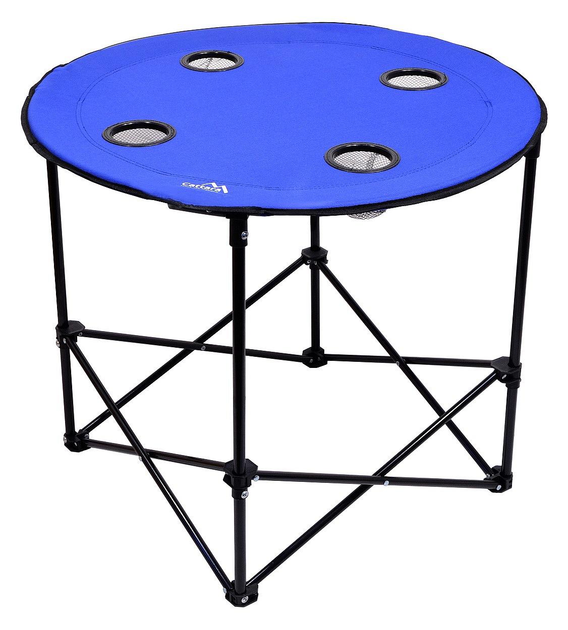 Cattara - Stůl kempingový skládací SPLIT modrý