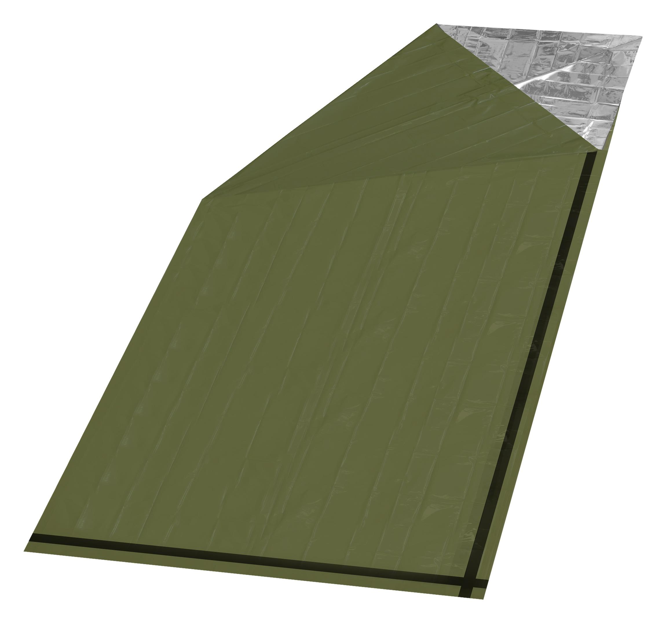 Izotermická fólie SOS zelená válec 200x92cm