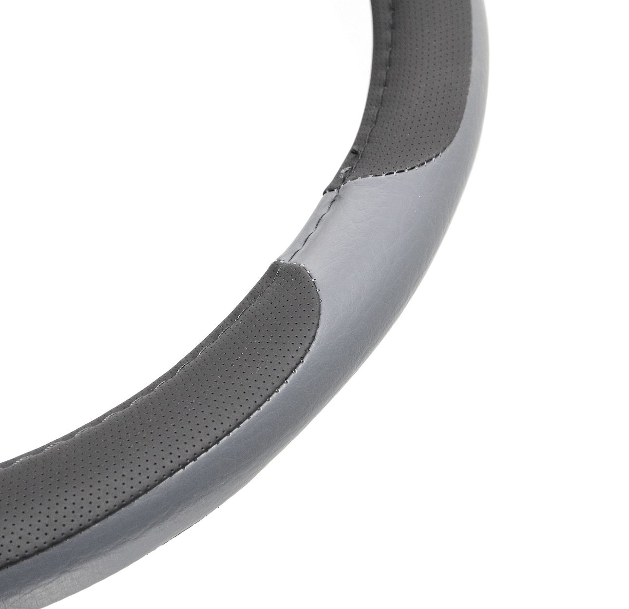 Potah volantu GRIP LARGE 42cm šedý